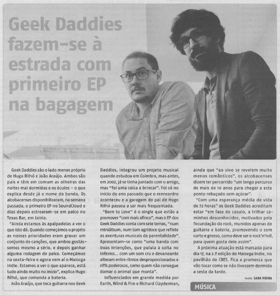 Geek Daddies news